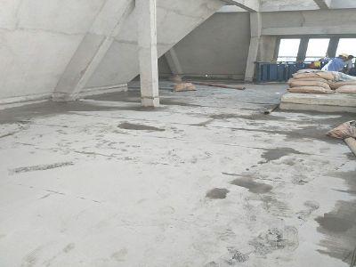 大都公馆屋面1.5高分子反应粘施工现场